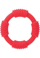 Adonis Silicone Rings Hercules Red