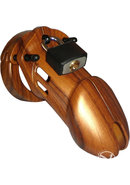 C B 6000 Designer Collection Male Chastity Device Wood...