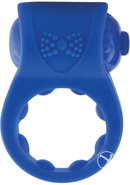 Primo Tux Silicone Vibe Ring Waterproof Blue 6 Piece Display