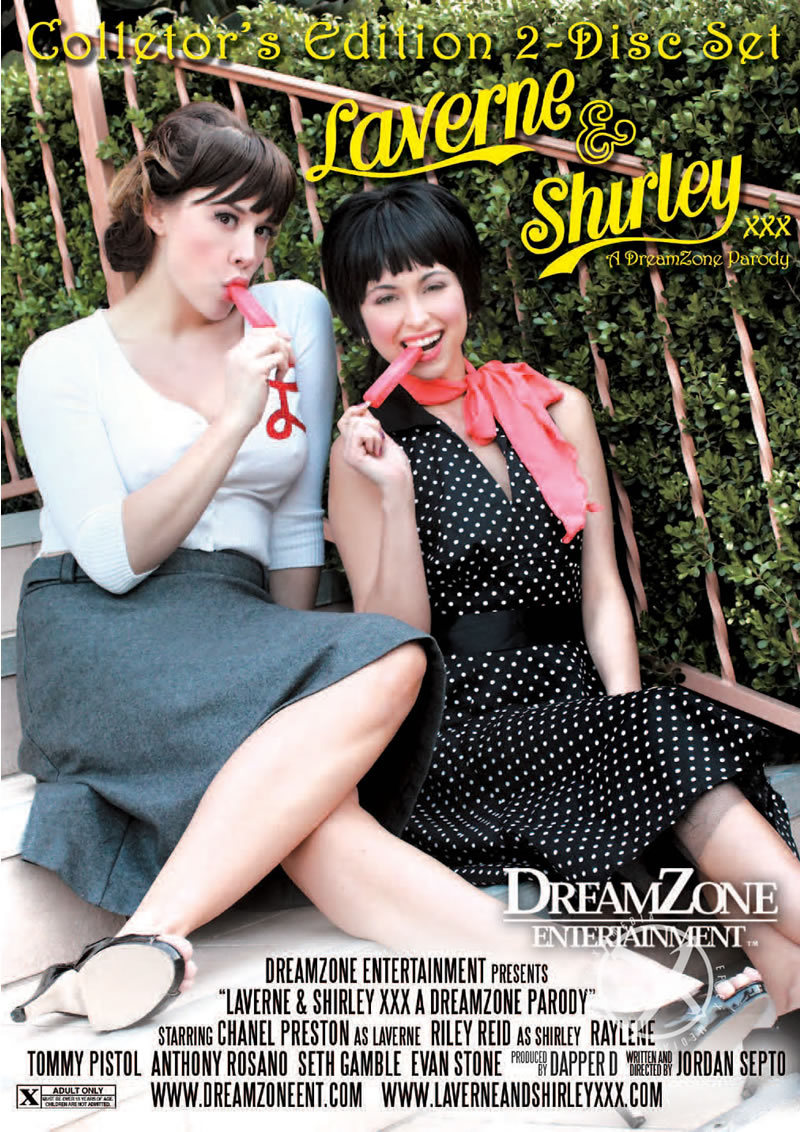 Laverne And Shirley Xxx Parody(disc)