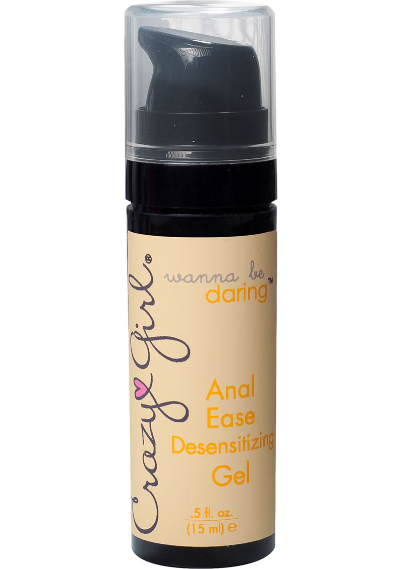 Crazy Girl Wanna Be Daring Desensitizing Anal Ease Gel .5 Ounce