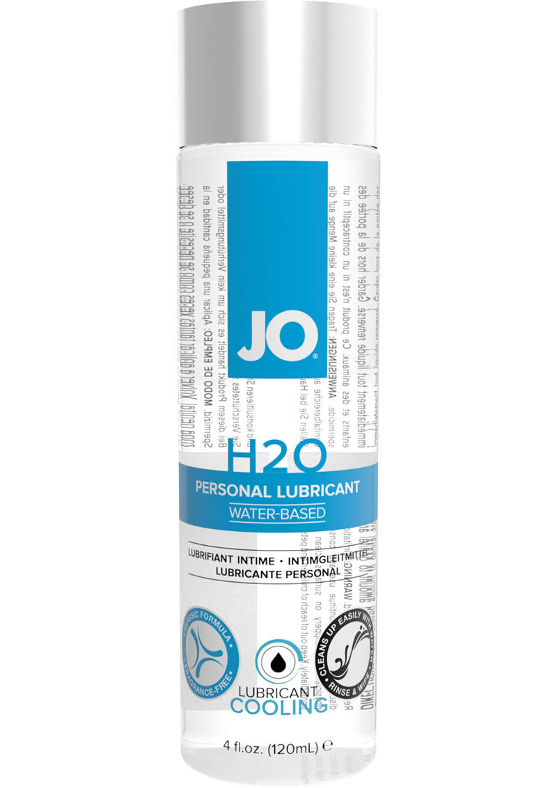 Jo H2o Water Based Lubricant Cooling 4oz