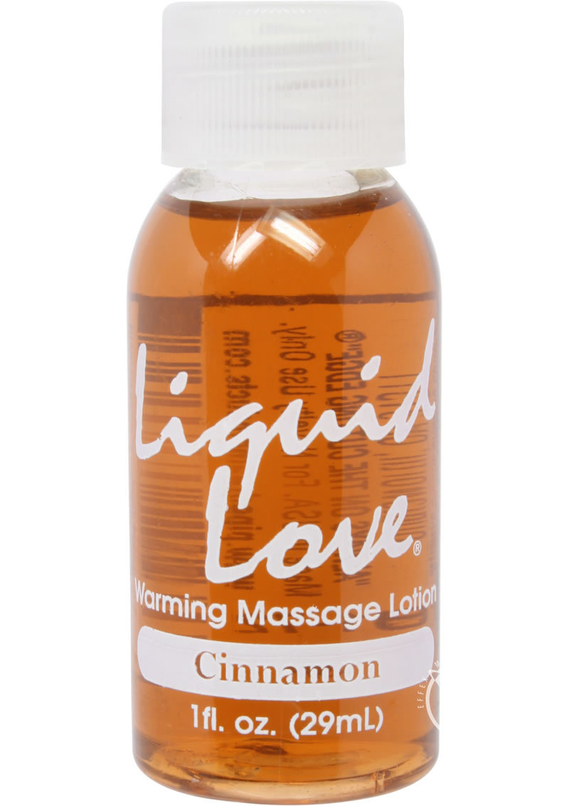Liquid Love Warming Massage Lotion Cinnamon 1 Ounce