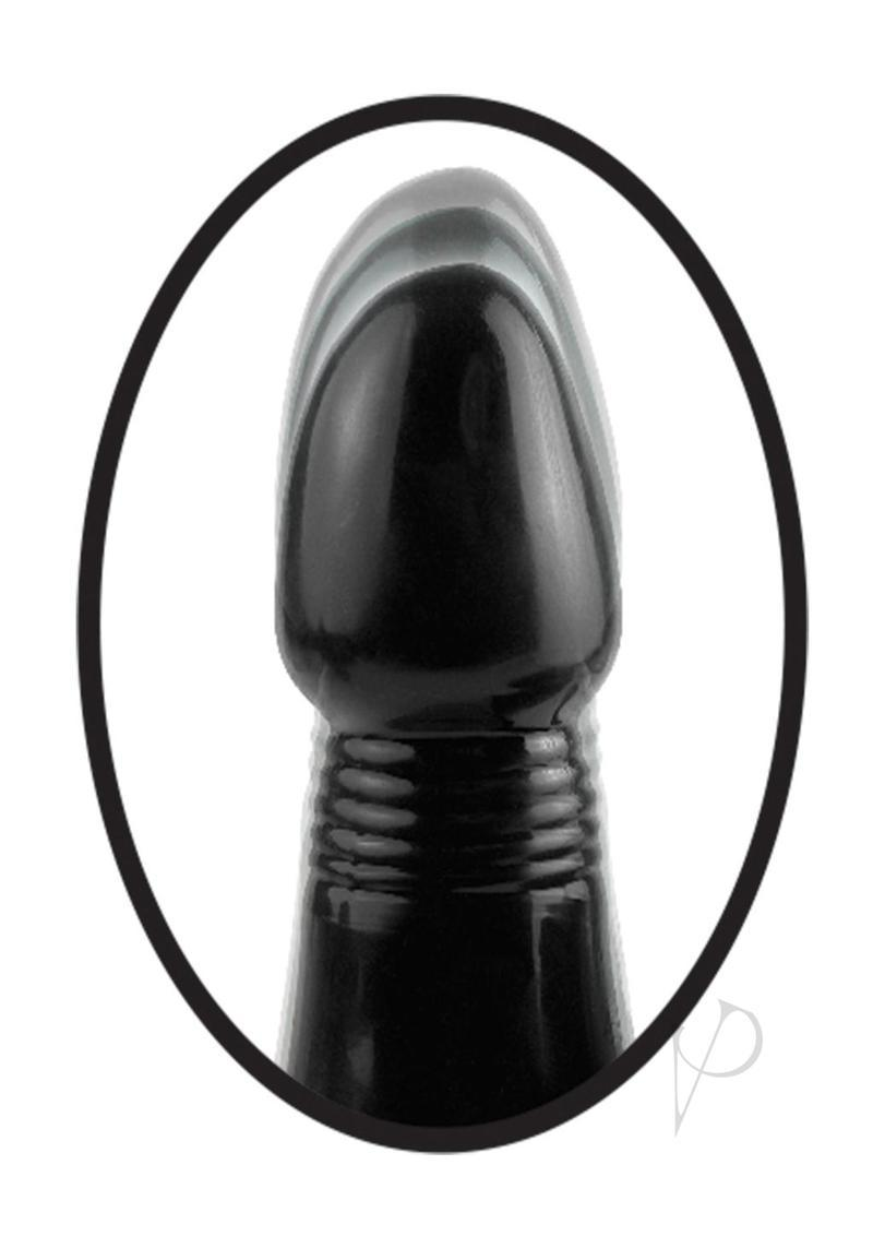 Anal Fantasy Collection Vibrating Thruster Silicone Vibe Waterproof Black 5.5 Inch