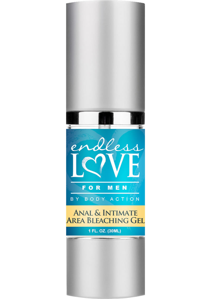 Endless Love For Men Anal And Intimate Area Bleaching Gel 1 Oz