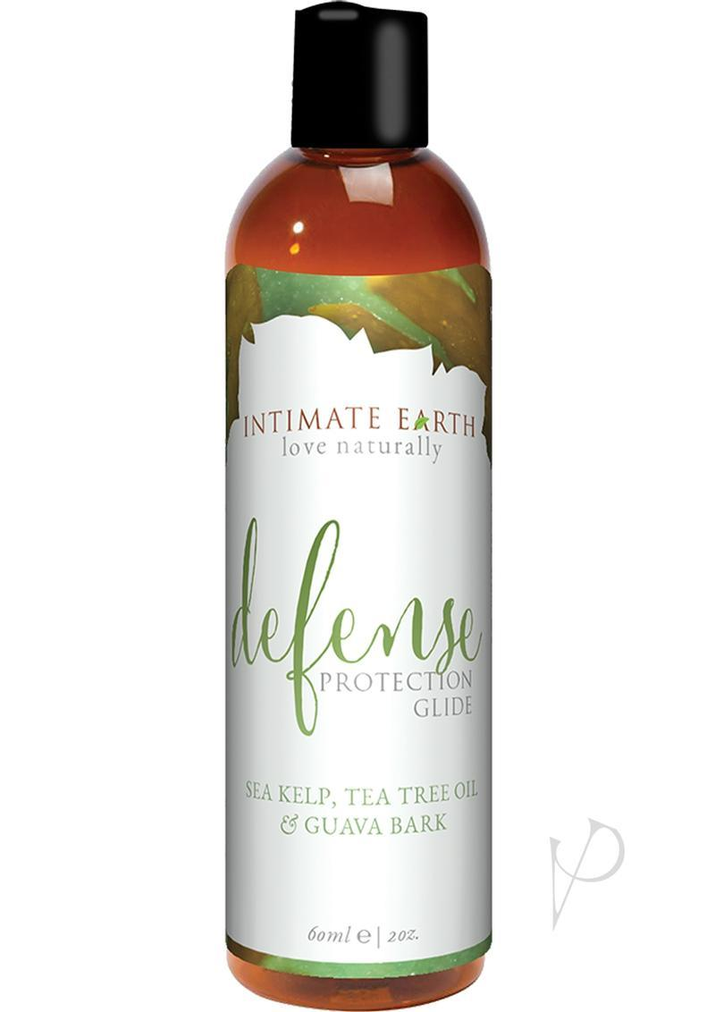 Intimate Earth Defense Protection Glide Sea Kelp, Tea Tree Bark And Guava Bark 2oz