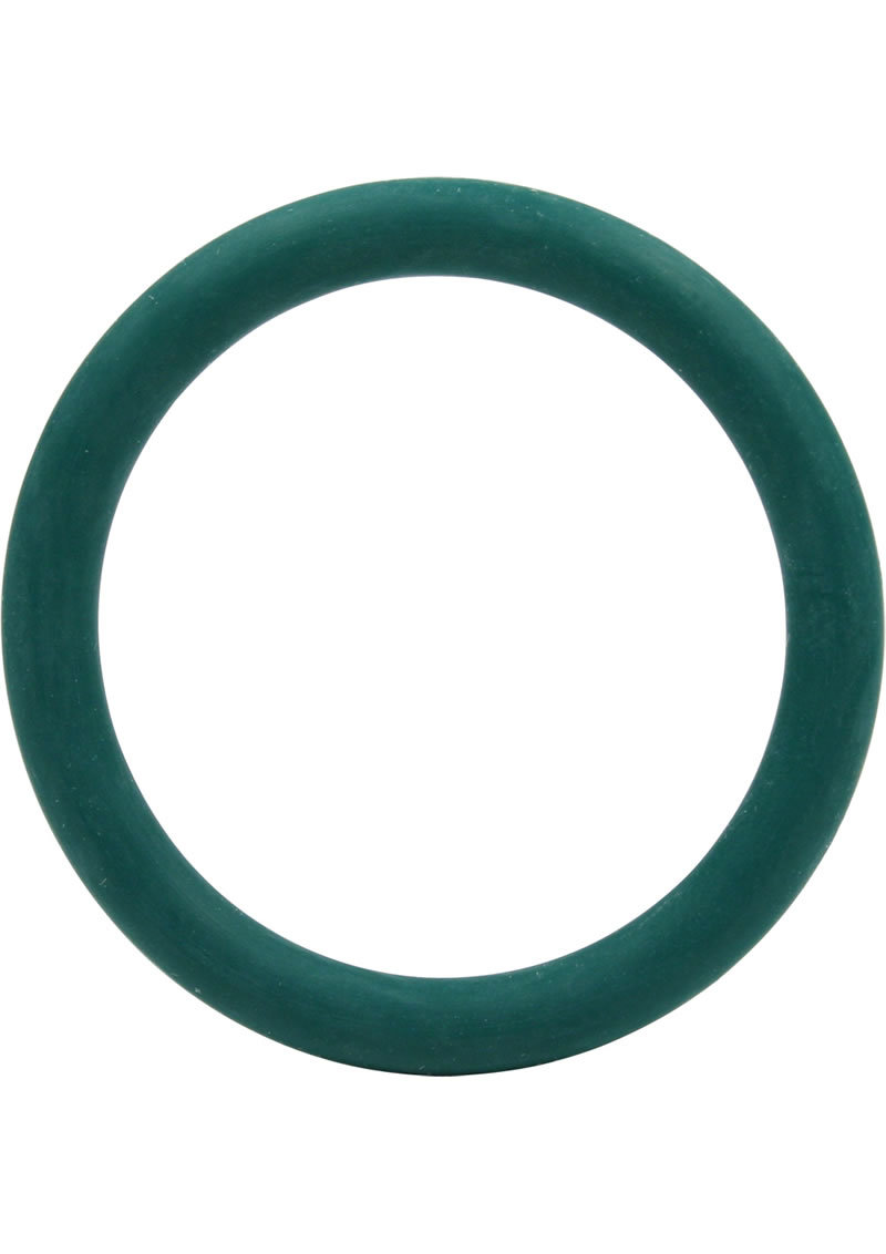 Rubber Cock Ring 1.5 Inch Green