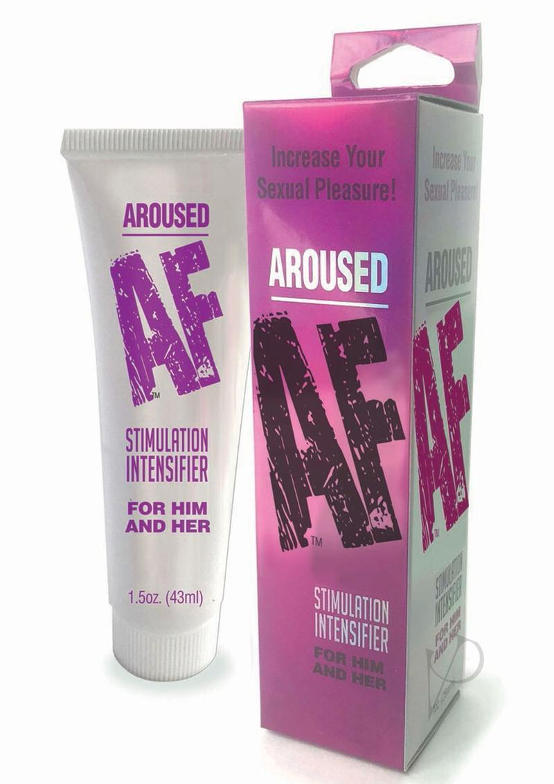 Aroused Af Stimulation Intensifier Cream For Him And Her 1.5oz